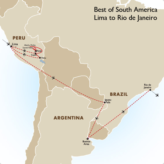 Best of South America South America Tours Goway