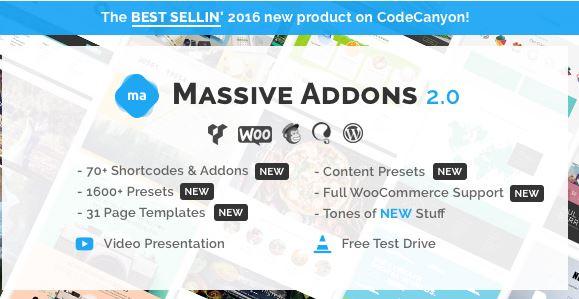 Massive Addons for Visual Composer - GPL Plugins