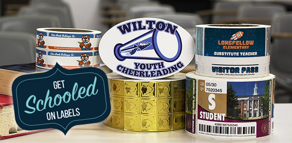 Custom Labels  Stickers for Back to School Season!