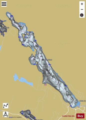 Lac Tremblant (Fishing Map  CA_QC_tremblant_lac_qc) Nautical