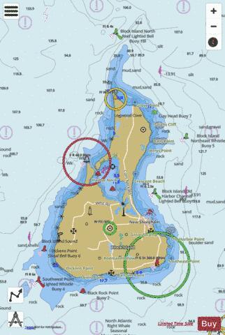 BLOCK ISLAND RI (Marine Chart  US13217_P2140) Nautical Charts App