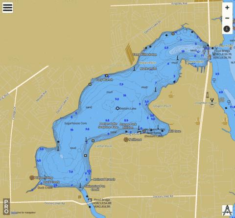 DOCTORS LAKE (Fishing Map  US_FL_00281632) Nautical Charts App