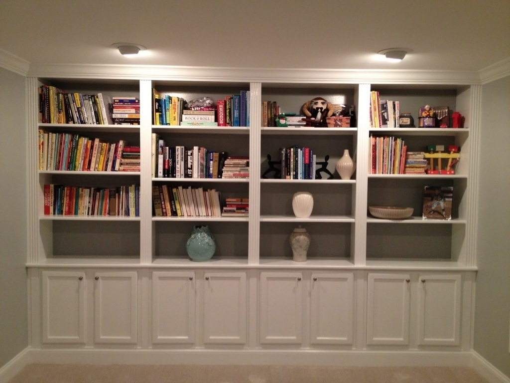 15 Best Collection Of Library Bookcases Lighting