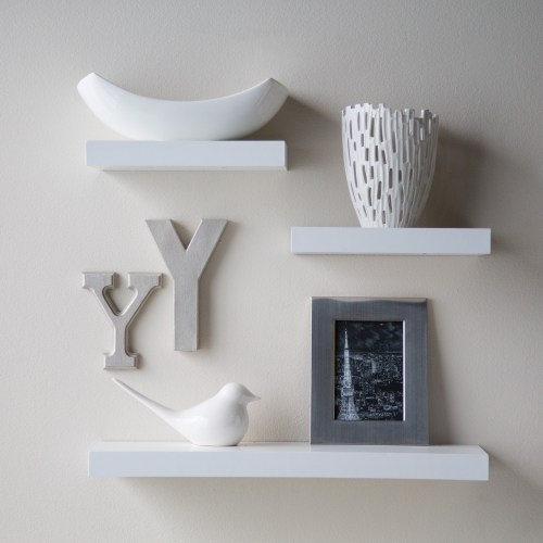 Medium Crop Of Floating White Wall Shelves