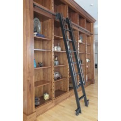 Small Crop Of Rolling Library Ladder