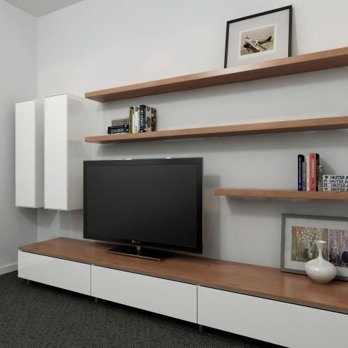Medium Of Wall Long Shelves