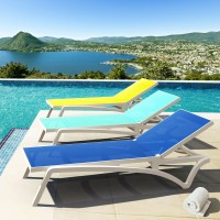 15 The Best Sling Chaise Lounge Chairs For Outdoor