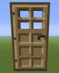 Wooden Door - GrabCraft - Your number one source for ...