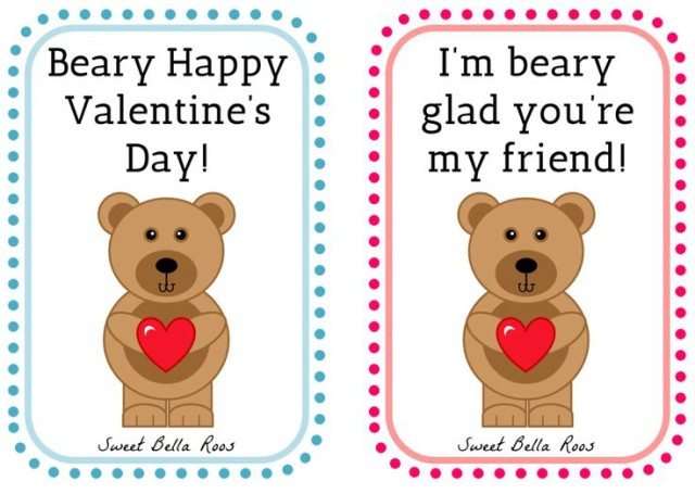 cute diy valentine's day card memes - Free Valentine s Day Printables Sweet Bella Roos