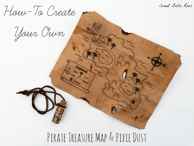 how to make a pirate treasure map