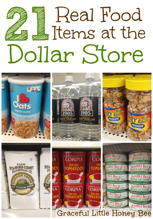 Graceful little honey bee frugal and simple living tips for Dollar store items online