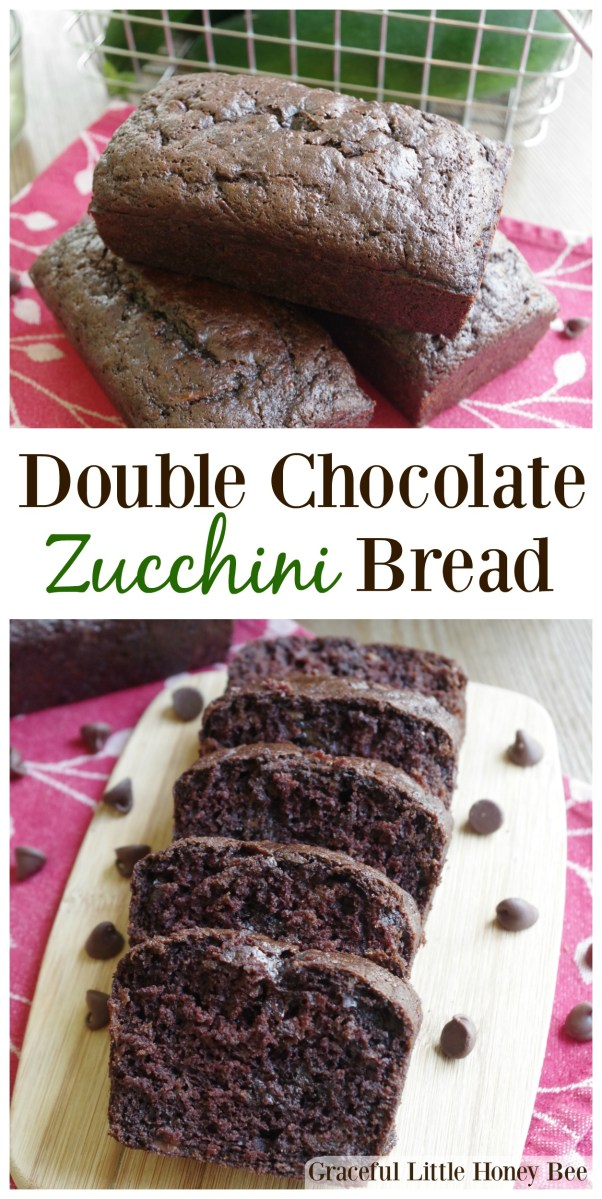 Double Chocolate Zucchini Bread