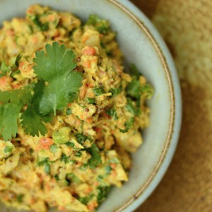 My Article Was Published! + Zesty Curried Tuna Salad