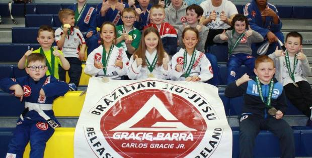 Gracie Barra Belfast Future Champions at the 2016 Irish Kids' Bjj Open