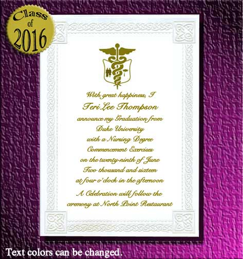 Graduation Announcements, Graduation Invitations and Name Cards