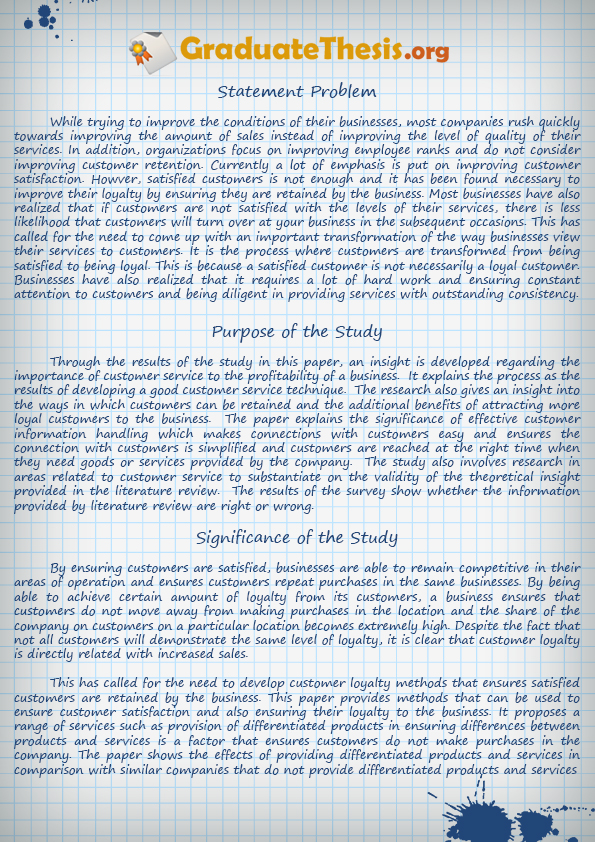 example of thesis paper free