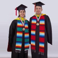 Plain Serape Stole - Graduation-Stoles.com