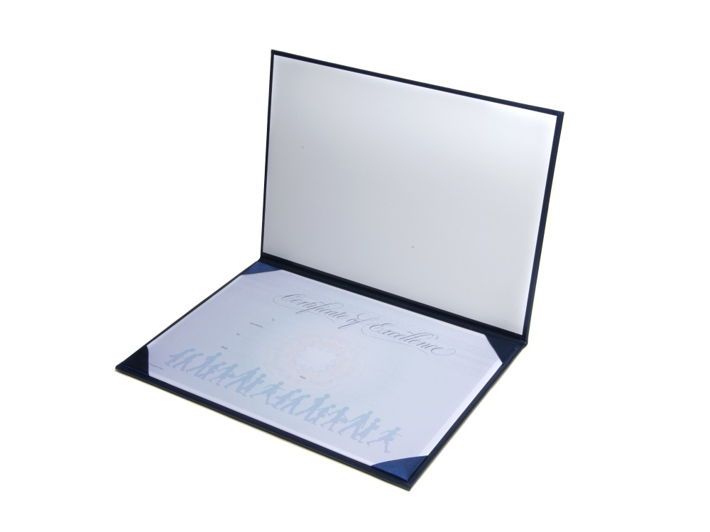 Customised Graduate Certificate Folder - Graduation Gowns in Europe - Graduation Certificate Paper