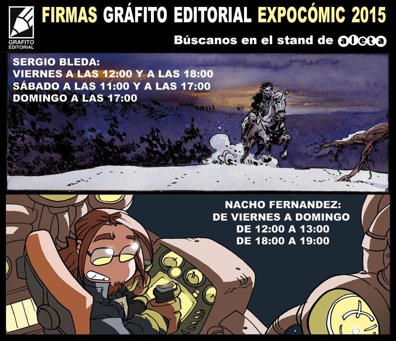 EXPOCOMIC GRÁFITO 2015