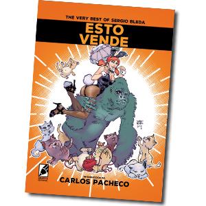 portada del cómic ESTO VENDE, el recopilatorio de historias de Sergio Bleda