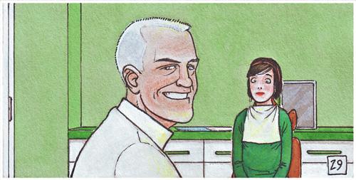 Herbert Dunne, protagonista de la novela gráfica Cazador de sonrisas