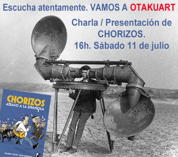 Grafito editorial y Chorizos atraco a la española en OTAKUART