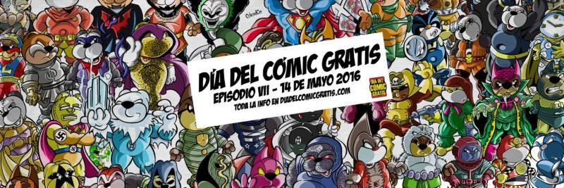 bannaer dia comic gratis 14 mayo 16