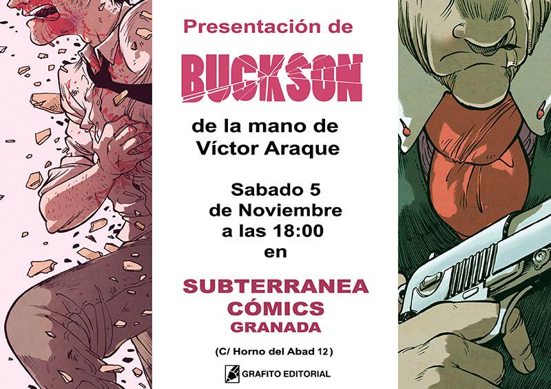 subterranea buckson comic