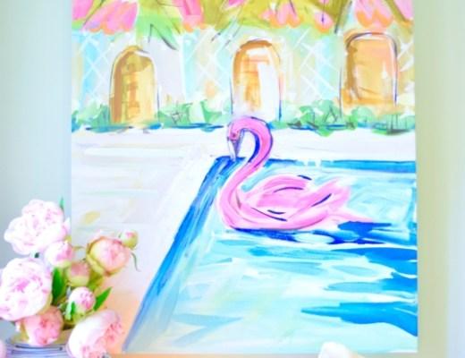 Graham & Co. Art Crush Artist Paint Maren Devine Preppy Bright