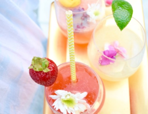 Flirty Floral Cocktails Graham & Co.