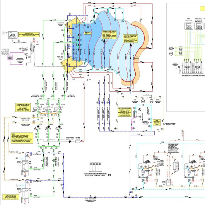 Schematic Design - Euro Pools Design