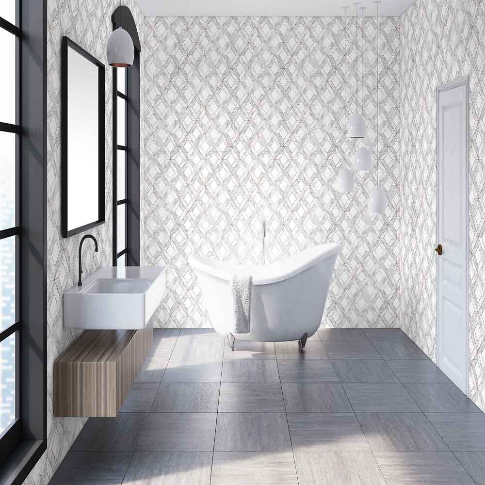 Wallpaper for Bathrooms | Powder Room Wallpaper