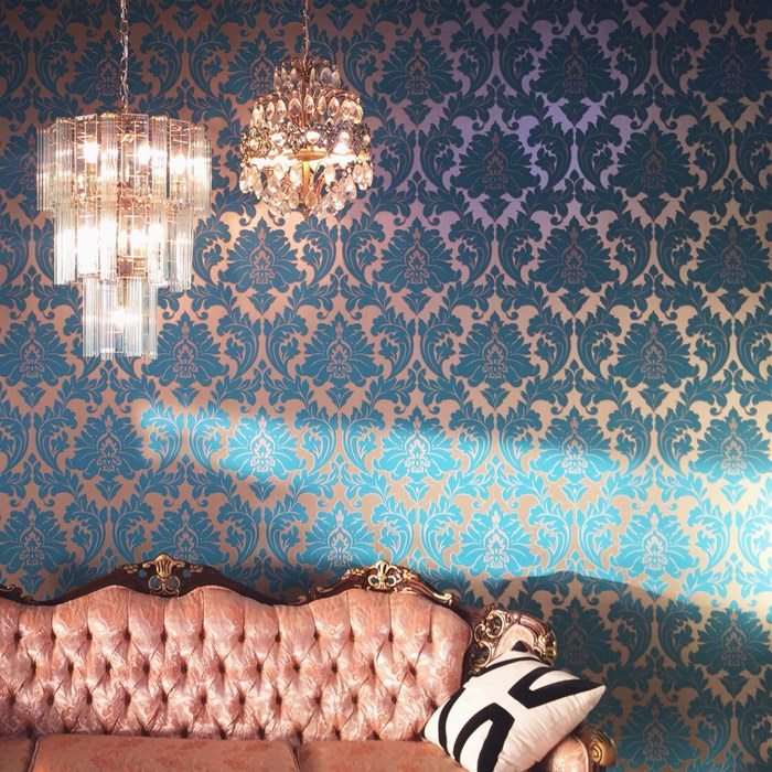 Wallpaper Black And White Damask Interior Design Tips To Create A Cosy Living Room