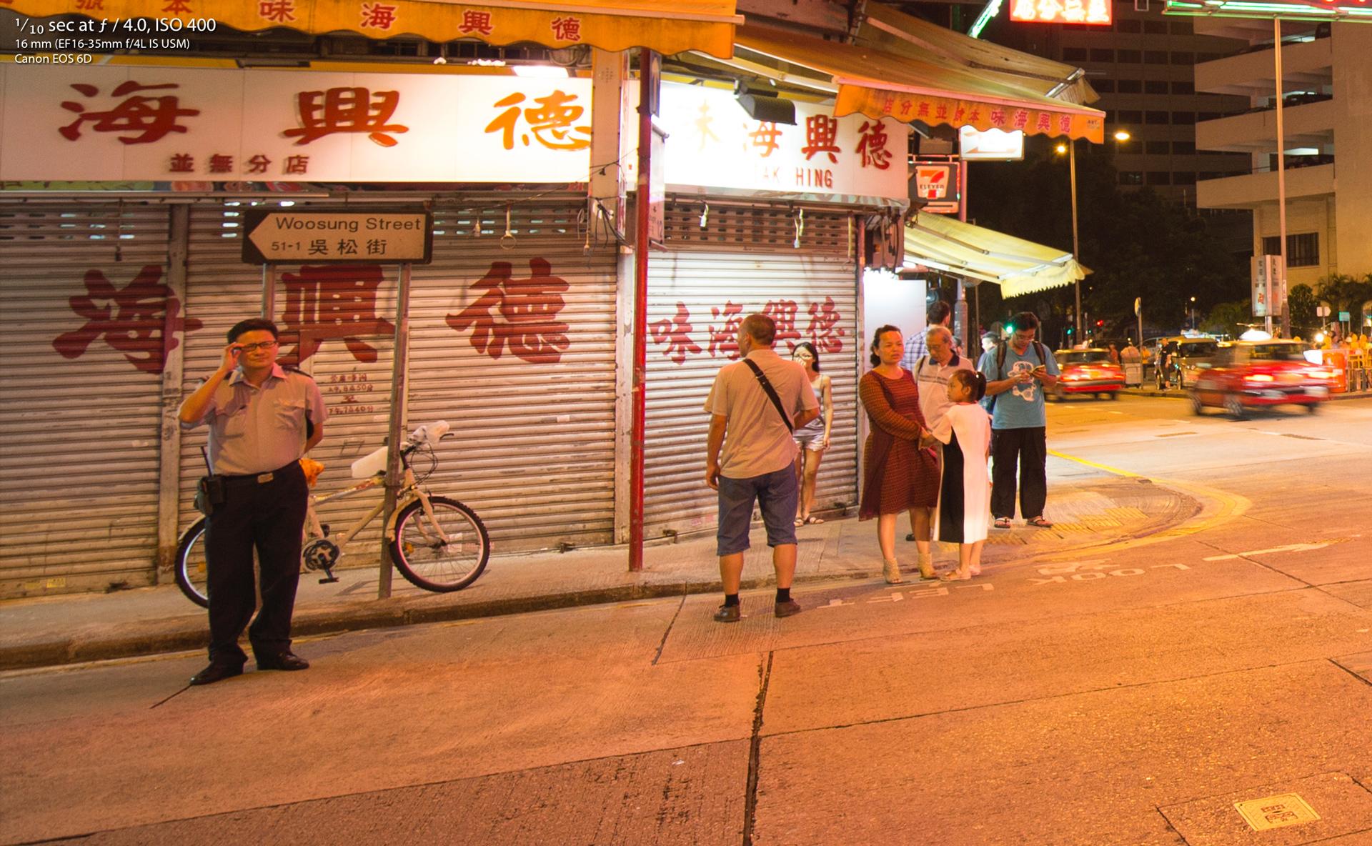 Canon 16-35mm F4 IS Review Hong Kong at Night 1