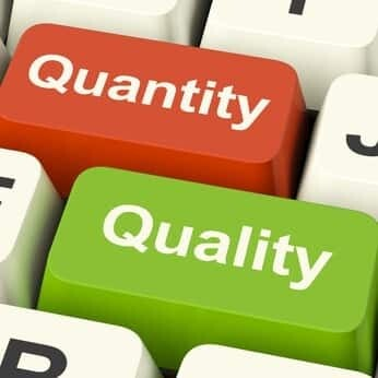 Quality or Quantity for Social Networks?