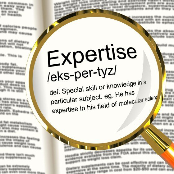 Expertise graphic