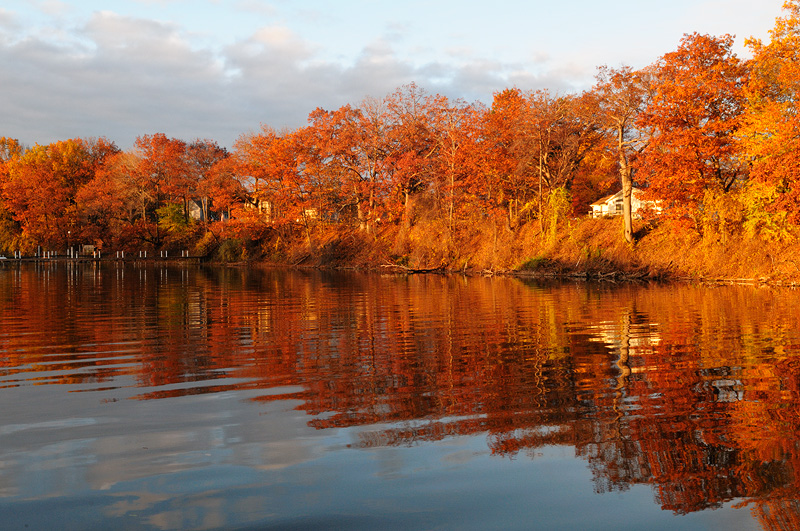 Fall Cottage Wallpaper Scenic Upstate New York And Adirondack Landscape Photography