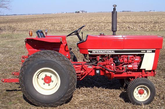 Farm Equipment For Sale International Harvester 284 Diesel tractor