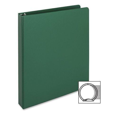 3-Ring Vinyl Binder, 2-Inch Ring Size, Green , 11 x 85 Inches