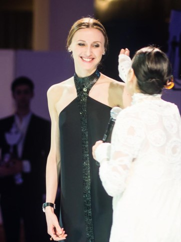 Carla Fracci, Luciana Savignano and Svetlana Zakharova go to the ball