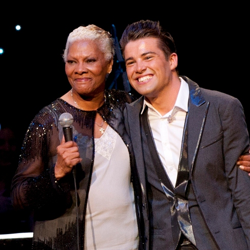 Dionne Warwick Joe McElderry The Hunger Project UK: Ending hunger with music