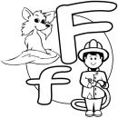 Alphabet Letter F Worksheet