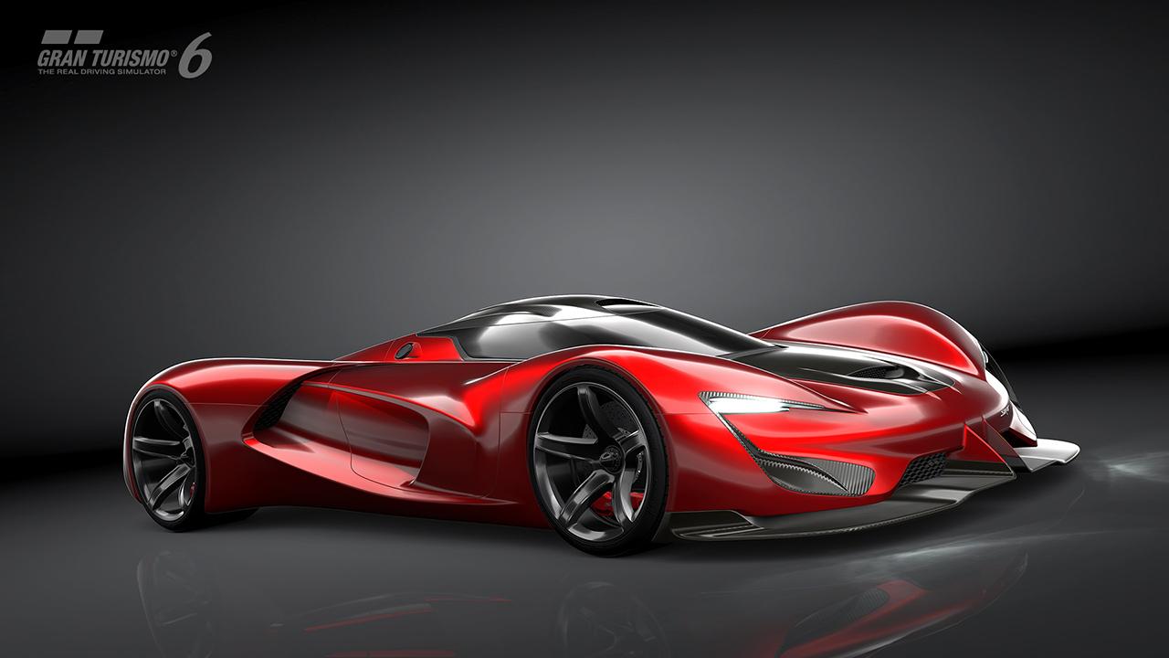 Project Cars Wallpaper Red Srt Tomahawk Vision Gran Turismo Revealed Gran Turismo Com