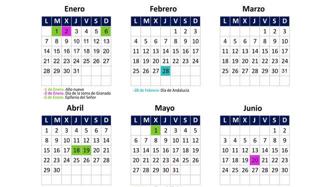 Calendario laboral de 2019 consulte los festivos locales y nacionales