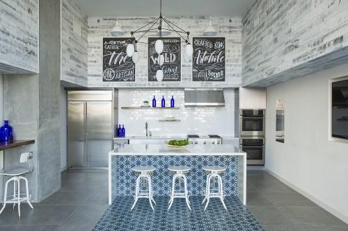 Medium Of Tile Kitchen Island
