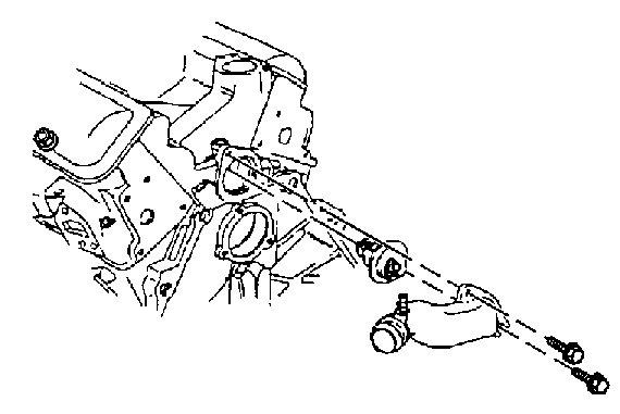 1997 pontiac grand am Motor diagram