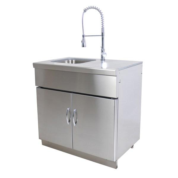 Kitchen Sink Unit Sizes: Outdoor Kitchen Module