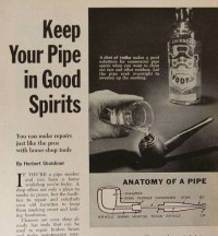 Pipe Repair Cleaning 1964 How-To INFO Briar | eBay