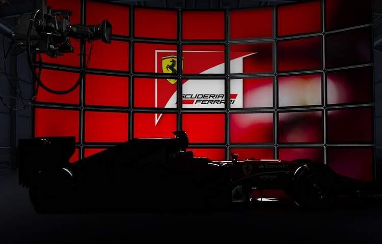 Ferrari štart