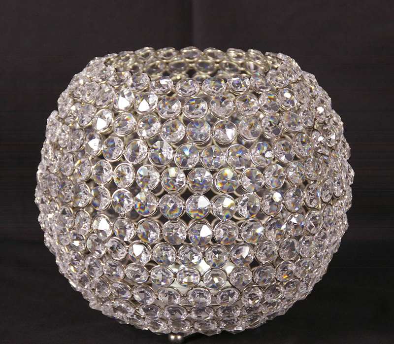 Centerpieces Crystal Beaded Globe